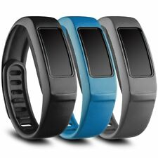3 Pack Silicone Wrist Bands for Garmin Vivofit 2 Watch Black Gray