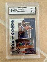 zion williamson rookie card Class Of 2019 Silver #7 GMA 9 Mint NBA Hoops Premium