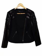 NEW Karen Millen embellished black jacket