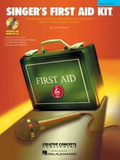 Singer's First Aid Kit Male Voice Book CD Pak Book and CD NEW 000315183