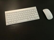 Genuine Apple Wireless Keyboard A1314 and Magic Mouse A1296 Combo