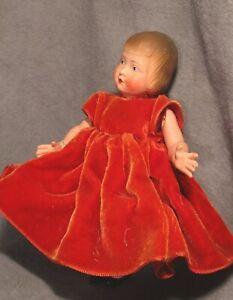 "Vintage Celluloid Doll - 6"" Jeanne d'arc Petitcollin - France"
