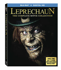 Leprechaun: Complete Movie Series Collection 1 2 3 4 5 6 7 Boxed/BluRay Set NEW!