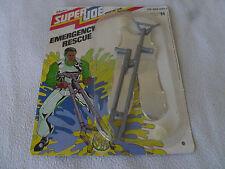 "SUPER JOE ADVENTURE TEAM CARDED EMERGENCY RESCUE OUTFIT HASBRO 12"" MOC 1977 GI >"