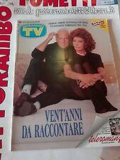 Tv Sorrisi e Canzoni N.12 anno 1994 Armani-Loren - Mondadori Ottimo