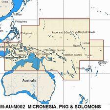C MAP MAX MEGAWIDE M-AU-M002 C-CARD MICRONESIA, PAPUA NEW GUINEA & SOLOMAN'S