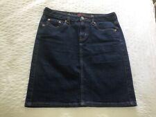Levi denim straight knee length Skirt size 10 great condition