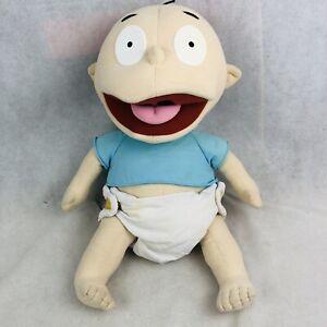 Vintage Rugrats Plush Tommy Pickles Large 24 inch Doll 1997 Mattel Viacom Rare