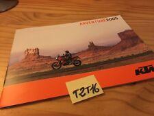KTM Adventure 2005 950 950S 640LC4 640 LC4 moto prospectus catalogue brochure