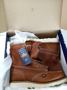 THOROGOOD 804-4296 MOC TOE SAFETY STEELE  TOE size 11.5 Boots NEW