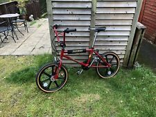 Custom Imola Red Raleigh Super Tuff Burner Mk2 Freshly Restored