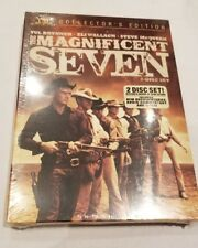 THE MAGNIFICENT SEVEN DVD New Factory Sealed COLLECTOR'S EDITION 2-Disc Set 2009