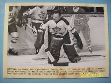 "2011-12 Parkhurst Champions ""Wire Photos Series"" Insert # 115 Johnny Bower!"