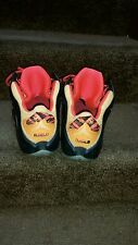 lebron 12 black yellow and red size 11