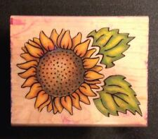 Rubber Stampede Sunflower Designs 770F Rubber Stamp