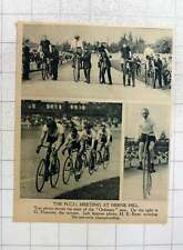 1919 Ordinary Bicycle Racing Herne Hill G Fournier, H E Ryan