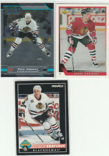 1978 TO 2014...CHICAGO BLACKHAWKS...LOT OF 133 CARDS INCLUDES 5 RC'S..NO DOUBLES