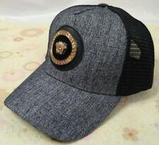 New Versace Men Women's Golf Hat Adjustable Strap One Size Gray