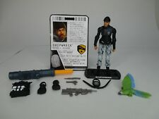 G.I JOE COBRA ROC RISE OF COBRA LOOSE ACTION FIGURE SHIPWRECK 100% COMPLETE