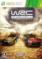 Used Xbox 360  WRC: FIA World Rally  MICROSOFT JAPAN JAPANESE JAPONAIS IMPORT