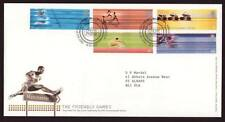 29049) UK - GREAT BRITAIN 2002 FDC Commonwealth games 5v