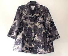 George Hip Length Polyester Floral Coats & Jackets for Women