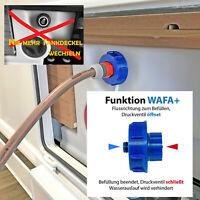 WAFA+ 7F Wassertankdeckel & Fülladapter Knaus Weinsberg FEINGEWINDE Gardena
