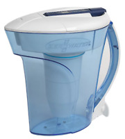 ZeroWater® 10-Cup Ready Pour™ Pitcher with Free Water Quality (FREE SHIPPING)