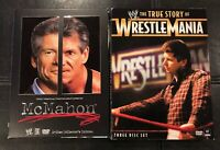 WWE DVD 2 Pack: The True Story of WrestleMania (DVD, 2011) & McMahon (DVD, 2006)