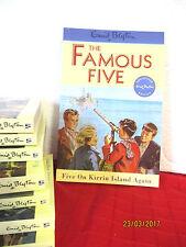 Enid Blyton FAMOUS FIVE #6 Five On Kirrin Island Again  NEAR NEW pb Eileen Soper