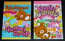 San-x Rilakkuma Rilakkumart Candy Mini Memo Pad Lot Stationery Kawaii Penpal