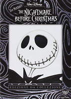 THE NIGHTMARE BEFORE CHRISTMAS  EDIZIONE DA COLLEZIONE  2 DVD nuovo