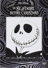 THE NIGHTMARE BEFORE CHRISTMAS  EDIZIONE DA COLLEZIONE  2 DVD nuovo