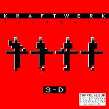 Kraftwerk – 3-d (1 2 3 4 5 6 7 8) 2 VINILE Ger. Edition GATEFOLD download NEW