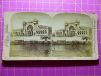 Antique Stereoscope Photograph of Scene in Berlin, Germany Stereoview printed US