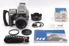 【 Top Mint 】 Hasselblad H1 Camera + 80mm f2.8 Lens + Film Back Set, Japan #602