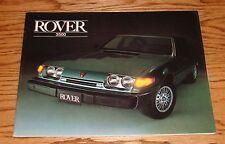 Original 1980 Rover 3500 Sales Brochure 80