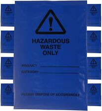 More details for hazardous waste bags - blue domestic & commercial use, high strength & quality