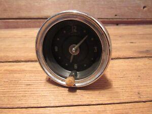 Vintage 1950-60's Car Trick Dash gauge CLOCK Chevy GM Ford Chrysler - PARTS!