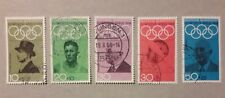 Bund Olympiade Mexiko 1968 Mi-Nr. 561/65 gestempelt, freie Versandkostenauswahl