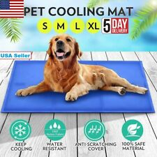 Pet Dog Cool Pad Gel Mat for Dogs Cats Beds Self Cooling Gel Pads Bed Cushion US