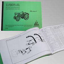 Fendt Ersatzteilliste Geräteträger F250 GT Traktor Schlepper 250001-1