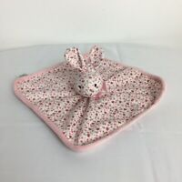Mothercare Pink Floral Roses Bunny Rabbit Baby Comforter Blankie Soother Doudou