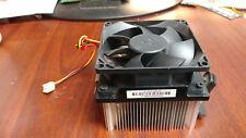 HP 505B Pavilion P6000 CPU Heatsink w/ Mounting Bracket And 3-Pin Fan 614946-001