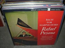 PUYANA / BACH for harpsichord ( classical ) mercury stereo