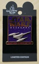 DISNEY STAR WARS MAY WEEKEND 2001 LIMITED EDITION PIN OF 2001 X-WING FIGHTER