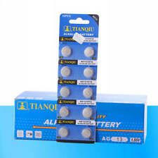 10x AG13 LR44 SR44 L1154 357 A76 Alkaline Button Cell Coin Battery For Watch Toy
