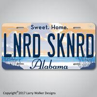 Lynyrd Skynyrd LS  Sweet Home Alabama Aluminum License Plate Tag NEW