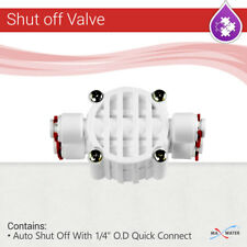 Auto Shut Off Valve Quick Connect Fittings for RO Reverse Osmosis Water System