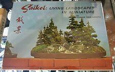 Saikei: Living Landscapes in Miniature Toshio Kawamoto 1967 1st Edition Bonsai